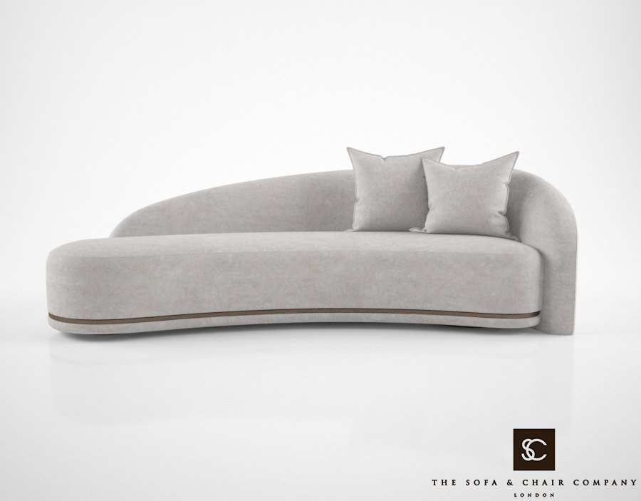 sofa chair company mouna 3d model