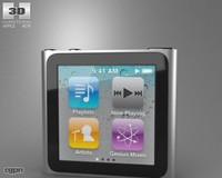 apple nano 3d max