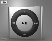 3d model apple shuffle
