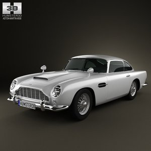 3d model of aston martin db5