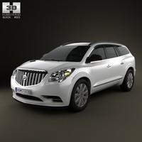3d model buick enclave 2013