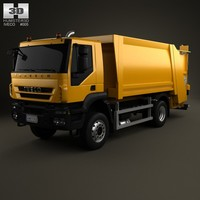 iveco trakker garbage 3d model