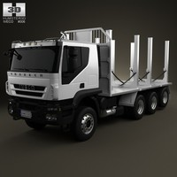 iveco trakker log 3ds