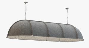 3d hood lamp lighting pendant