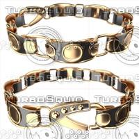 bracelet 3d obj