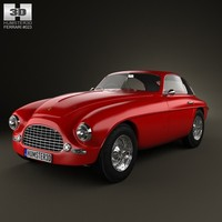 3d model of ferrari 166 berlinetta