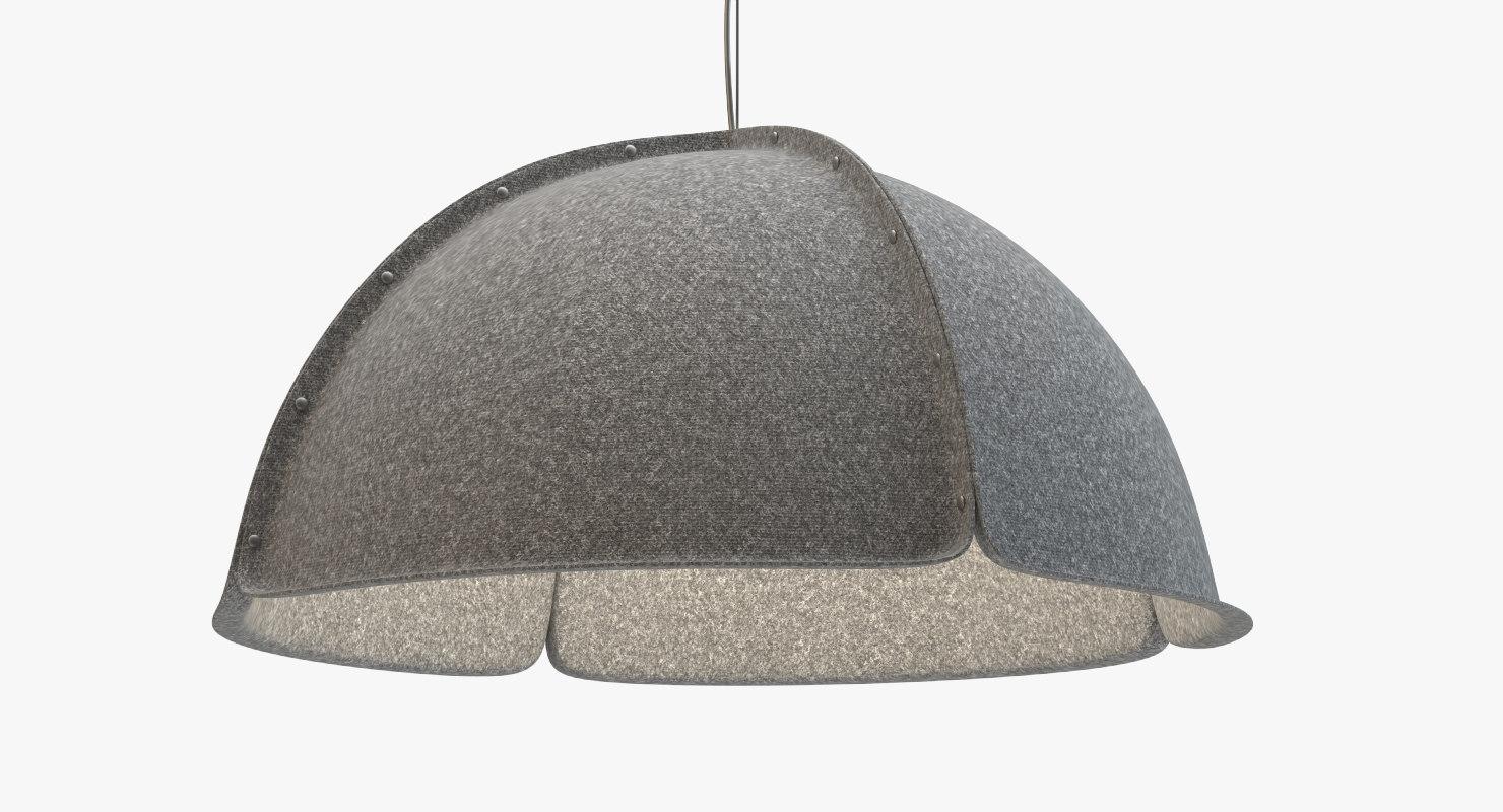 hood lamp lighting acrylic 3d max