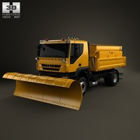 Iveco Trakker Snow Plow Truck 2-axis 2012