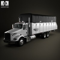 Kenworth T800 Cotton Truck 2011