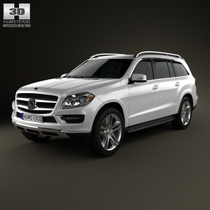 3d mercedes benz gl model