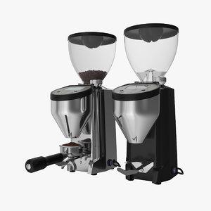 3d rocket espresso macinatore fausto model