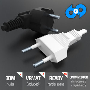 plug 3d 3dm