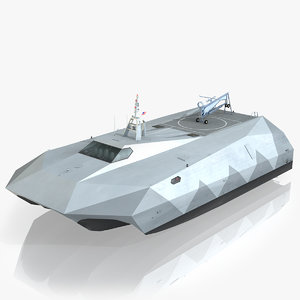 navy m80 stiletto 3d max