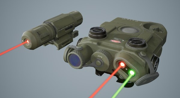 3d special attachments weapon model