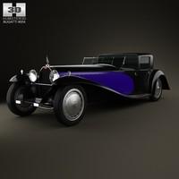 3d bugatti royale type
