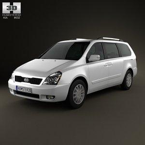 car 2008 5 3d model
