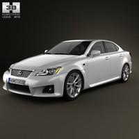 3d model lexus f xe20