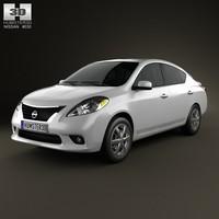Nissan Versa (Tiida) sedan 2012