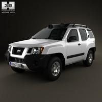 3d model nissan xterra 2012