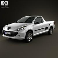 3d model peugeot hoggar 2012