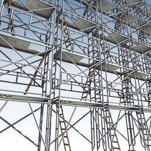 scaffold modular 3d model