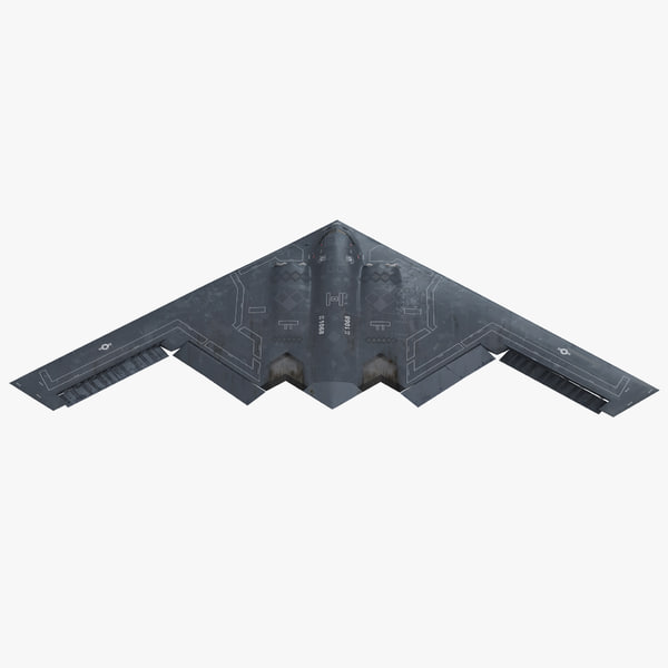 3d model stealth bomber b-2 spirit