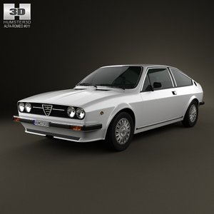 3d model alfa romeo sprint
