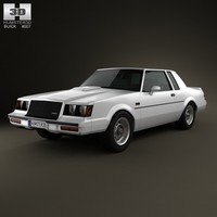 3d model buick regal grand