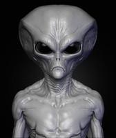 3d alien sculpt 7