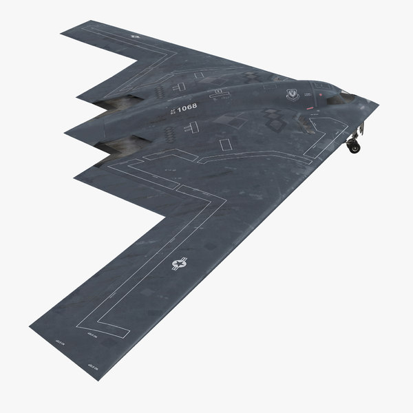 stealth bomber b-2 spirit 3ds