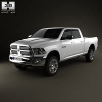 Dodge Ram 2500 Crew Cab Big Horn 6-foot 4-inch Box 2012