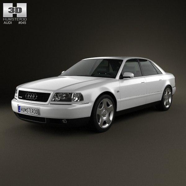 3d Audi A8 D2