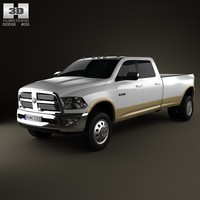 Dodge Ram 3500 Crew Cab Dually Laramie 8-foot Box 2012