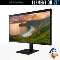 lg ultrafine element 3d model