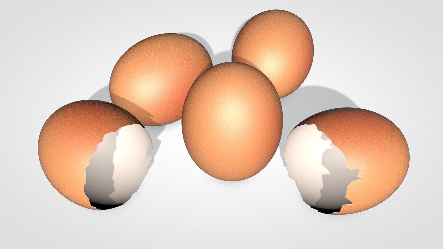 egg shell c4d