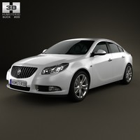 3d buick regal 2012 model