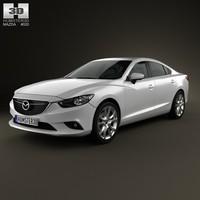 Mazda 6 sedan 2013