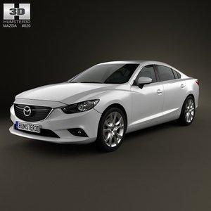 car 6 3d model