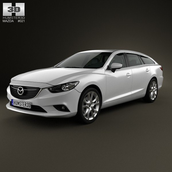 3d car 6 model