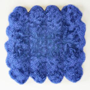 skin merino blue 3d model