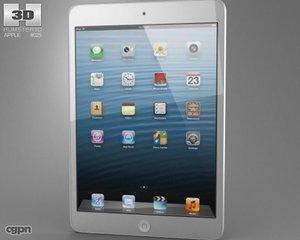 3d apple ipad mini model