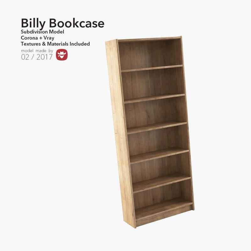 3d model billy book