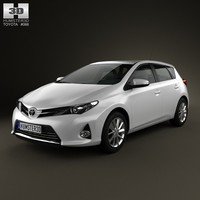 Toyota Auris hatchback 5-door 2013