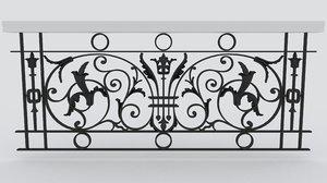 fbx paris railing