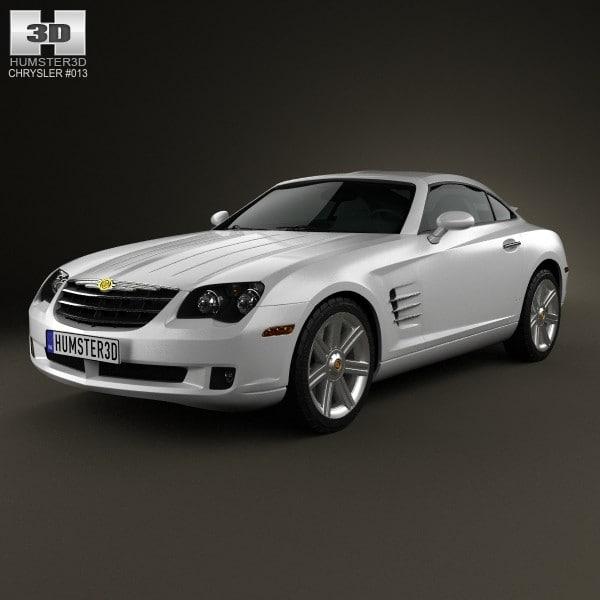 3d Chrysler Crossfire 2003