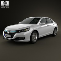 3d model honda accord phev