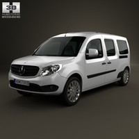 3d model of mercedes benz citan