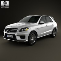 mercedes benz ml 3d model