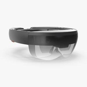 hololens ar headset 3d max