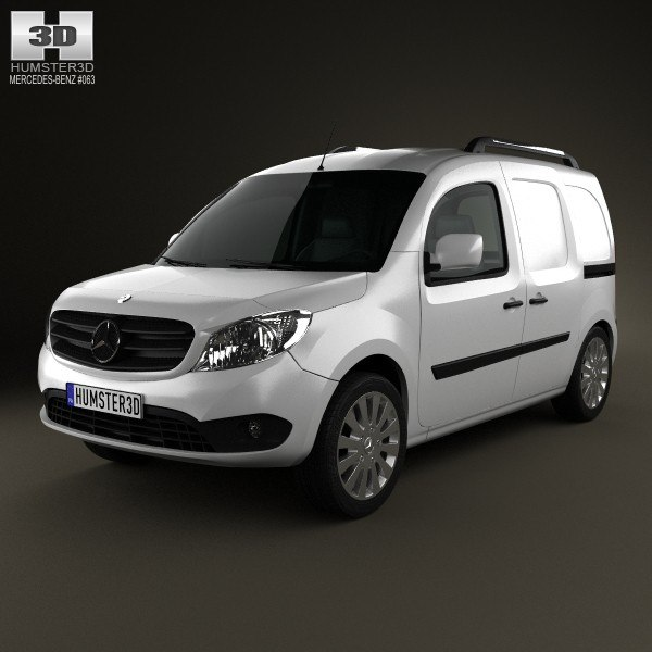 van mercedes benz 3d model